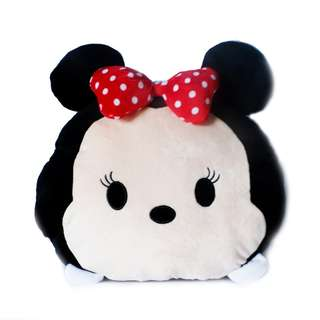 Minnie Tsum Pillow with Blanket and Hand Warmer