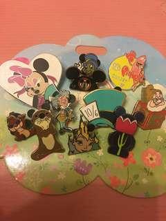 迪士尼 襟章 徽章 Disney pin Disneyland pin