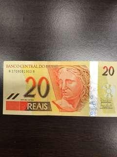 Old Brazil Note