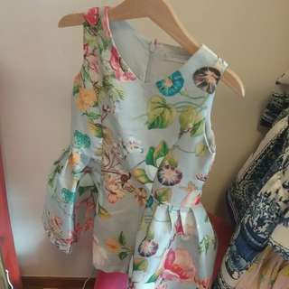 Floral Dress by Gingersnaps