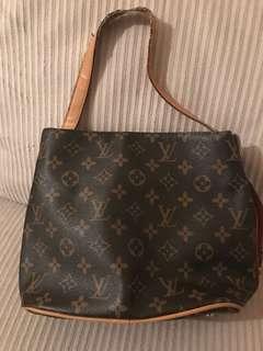 Louis Vuitton Monogram Canvas Tote Handbag Purse
