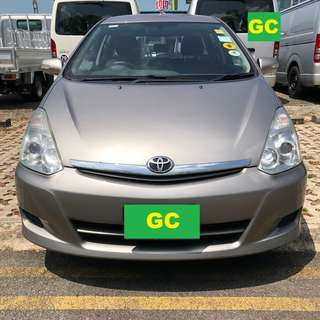Toyota Wish RENTAL CHEAPEST RENT FOR Grab/Ryde/Personal USE