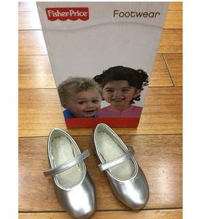 fisher price silver shoes