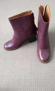 Whistles burgundy boots