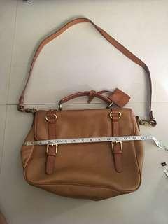 Mossimo Dutti Leather Bag ORIG