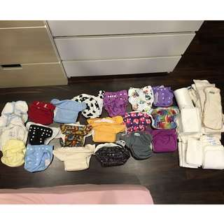 Blessing items with sale of reusable diapers