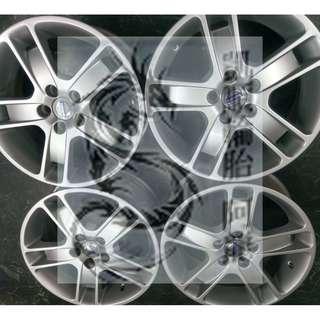 17吋原廠鋁圈 VOLVO S40 改圈升級拆車鋁圈 福特/VOLVO 無變形無缺角 7.5J ET52.5 限量一組