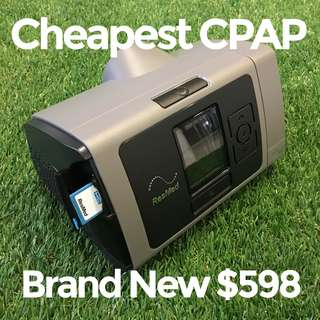 Cheapest CPAP $598 Resmed Brand New in Box