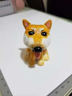 Caricature of puppie made by polymer clay