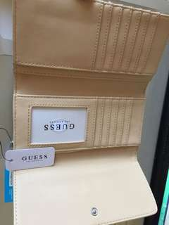 Guess Abree Rose Gold wallet