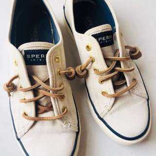 Sperry top sider white