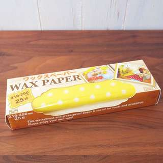 日本Daiso波點水玉報紙Wax Paper兩盒Set大約50張包裝紙