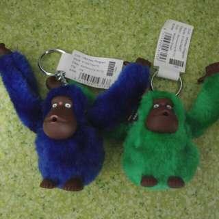 名牌 KIPLING猴子吊飾鎖匙扣