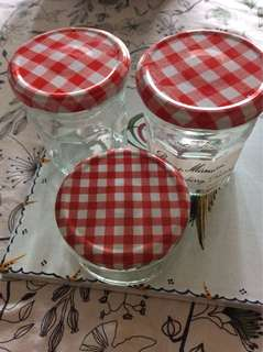 Strawberry Jam container