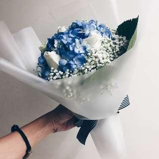 Mother's day Hydrangea bouquet