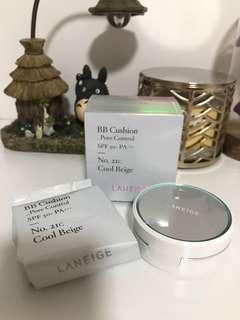 Laneige bb cushion pore control spf 50