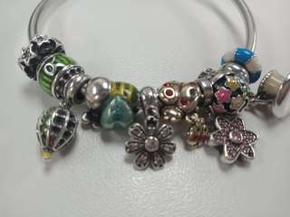 Used soufeel charms and bangle