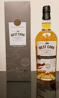 West Cork Distillers West Cork Cask Strength Blended Irish Whiskey