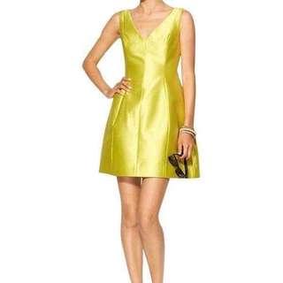 Brand new Kate Spade Silk Yellow Dress