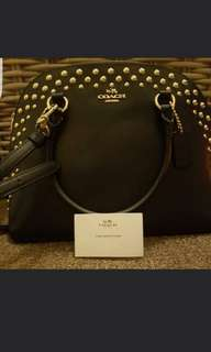 *Authentic Coach Studded Bag♡*