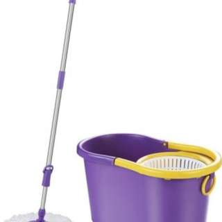 Magic Mop ( spin mop alat pel lantai putar broom sapu tongkat pel