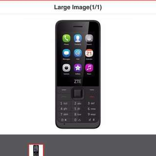 ZTE F327s 3G Basic Phone Local Set with 1 Year ZTE Warranty & 💍Ring Stent Plastic