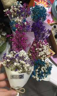 Baby Breath Bouquet (small size)