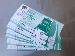 SPC fuel vouchers selling at 14% discount off the original value. The vouchers can be used to pay petrol bills after you get the 10% SPC card discount.