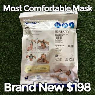 Most Comfortable CPAP Mask Resmed Swift FX BNIB