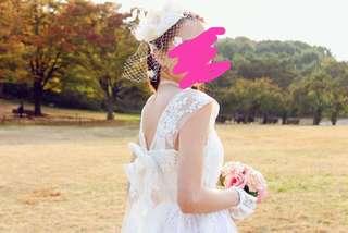 Vintage , Audrey ,50's style wedding gown小禮服 復古輕婚紗