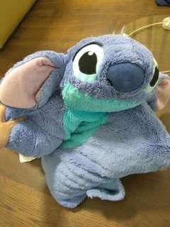 (SOLD) Stitch pillow from Florida Disneyland