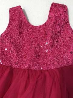Barbie Pink Dress / Girl Party Dress
