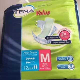 Free delivery Tena Adult diaper