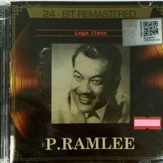 P. RAMLEE Lagu Cinta 24 Bit Remastered CD