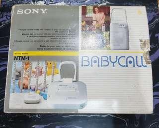Sony Babycall Nursery Monitor