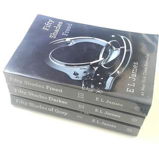 (RUSH SALE!!!) Fifty Shades Triology