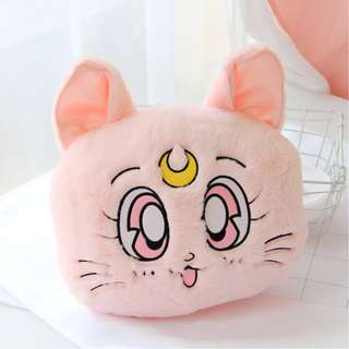 Sailor moon Diana plushie travel pillow with blanket