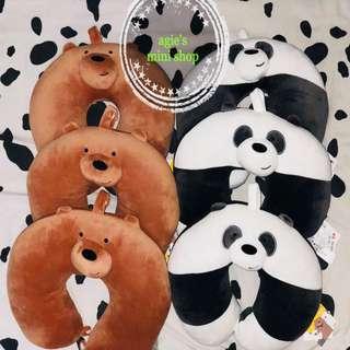 We Bare Bears Neck Pillow 🐻