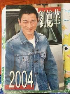 劉德華2004年月曆相集