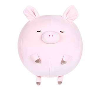 Pig Pillow with Blanket and Hand Warmer