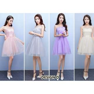 BRIDESMAID DRESS 2018 SERIES ( pre-order 170201)