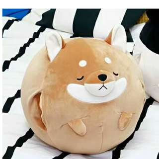 Corgi Pillow with Blanket and Hand Warmer