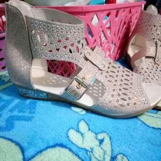 Glittery Princess Sandals