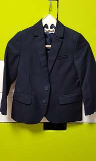 Wore once almost new. Two-button blazer / jacket. Suitable for 4-5 yrs old boy.
