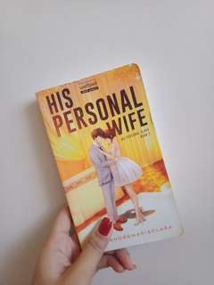Pre-loved teen fiction book ( HIS PERSONAL WIFE )