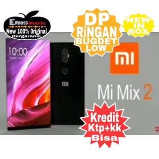 Bisa Nyicil Dp 1jt Xiaomi Mi Mix 2 Black 64/6GB Original ditoko ktp+kk