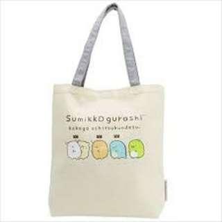 【現貨/售完下架】角落生物/SUMIKKO-GURASHI:側背包(尺寸:360×380×60mm)_免運。