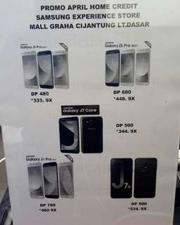 Promo April Home Credit di Mall Graha Cijantung