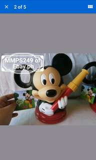 MICKEY MOUSE PLASTIC WATERING CAN FROM USA