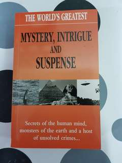 The World's Greatest Mystery,Intrigue & Suspense